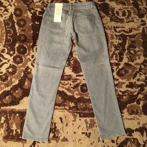 Talbots signature ankle jeans. Silver Size 0P 25